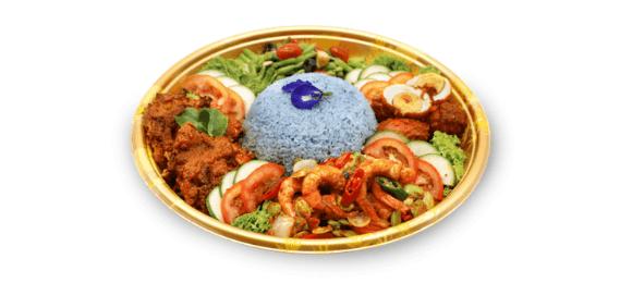 Peranakan Inspired Nasi Ambeng Set A