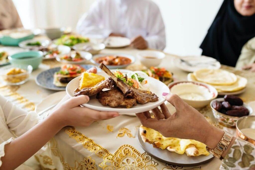 Sharing Halal Food