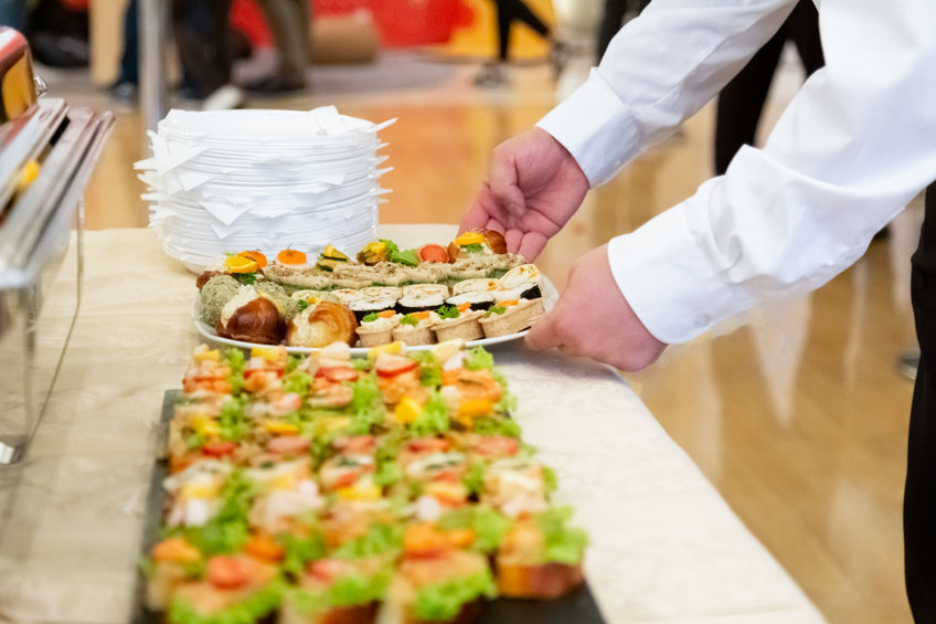mini buffet catering service